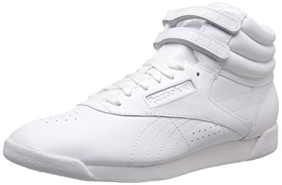 cafa01770 Amazon.com | Reebok Women's Freestyle Hi Lace-Up Sneaker | Fashion ...