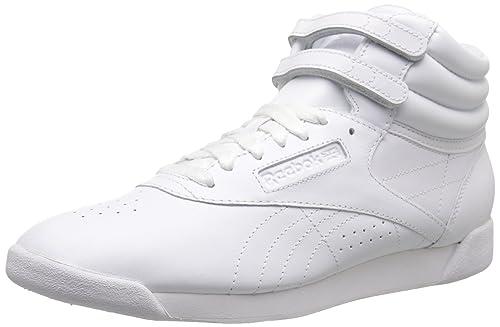 931ee4ba93 Reebok Women's Freestyle Hi Lace-Up Sneaker