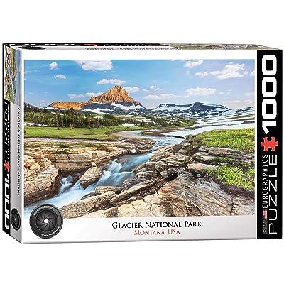 EuroGraphics Glacier National Park 1000-Piece Puzzle: Toys & Games