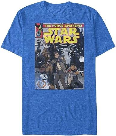Star Wars Ep VII The Force Awakens BB-8 Portrait Heather Girls T-Shirt