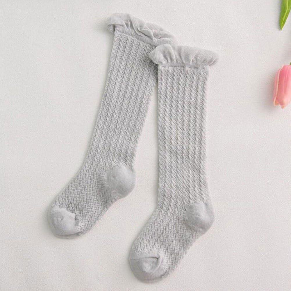 Meiyuan Infant Toddler Newborn Baby Girls Knee High Socks Warmer Stockings