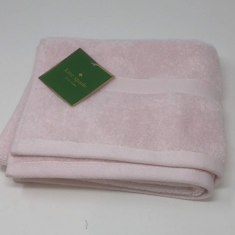 Kate Spade Light Pink Towel 6 Piece Set Bundle - 2 Bath Towels, 2 Hand Towels, 2 Washcloths by Kate Spade New York (Image #3)