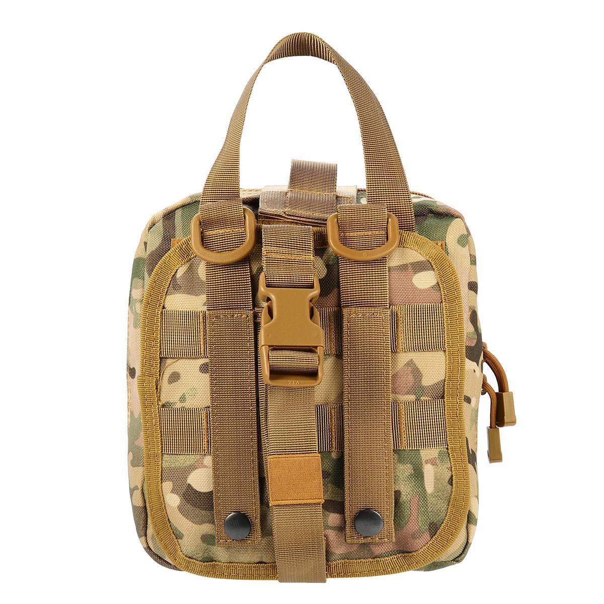 F.S.M. Outdoor Tactical Molle Bag Emergency Survival First Aid Belt Nylon Pouch - Camo by F.S.M.