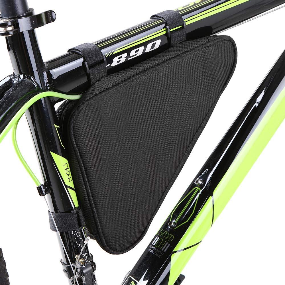 2x Fahrradtasche Dreiecktasche Werkzeug Tasche Rahmentasche Triangle Bag NEU