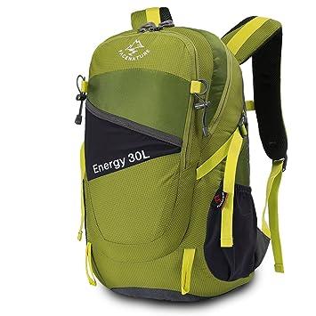 2eb9b575b368 Facenature Outdoor Sports Camping Hiking Waterproof Backpack Travel Daypack  Mountaineering Bag 30L Casual School Trekking Rucksack (Army Green)