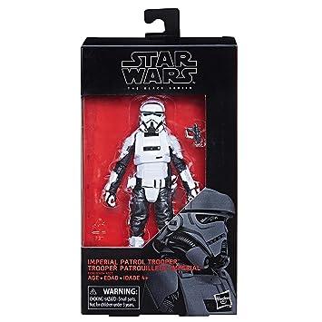 Hasbro Star Wars Black Series 6 Inch Imperial Patrol Trooper Action Figure