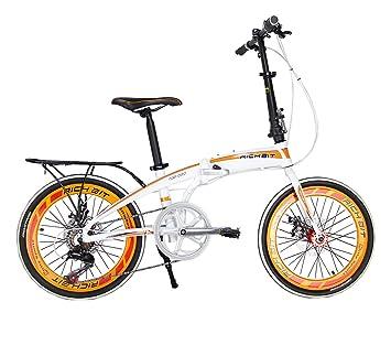 richbit® rt-020 mujeres y hombres Mini estructura plegable de aluminio bicicleta 20 pulgadas