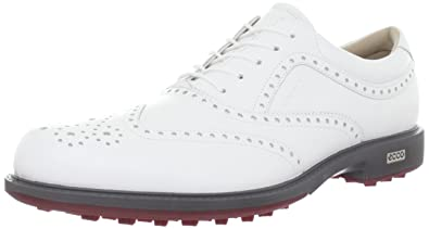 ECCO Men s Tour Hybrid Wing Tip Golf Shoe 45fce4fd452