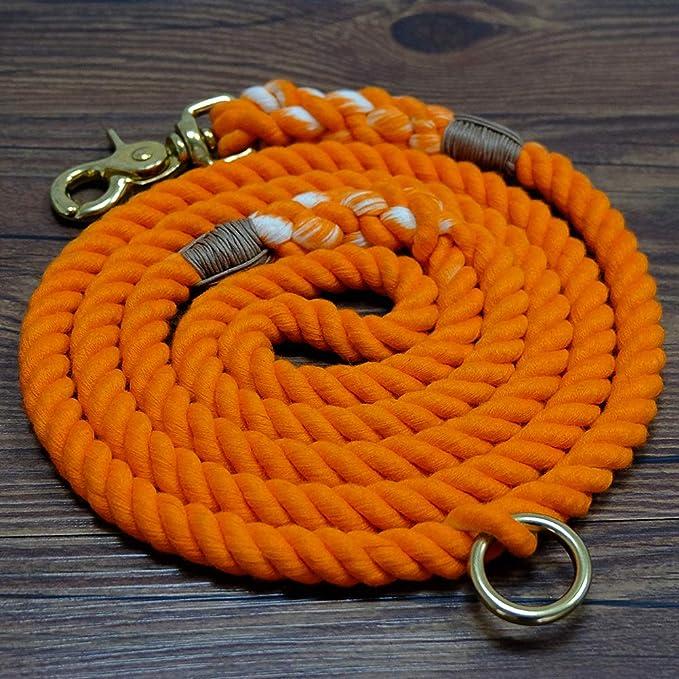 Handmade 1 Wide Football Fields or Footballs 5 Foot Pet Leash