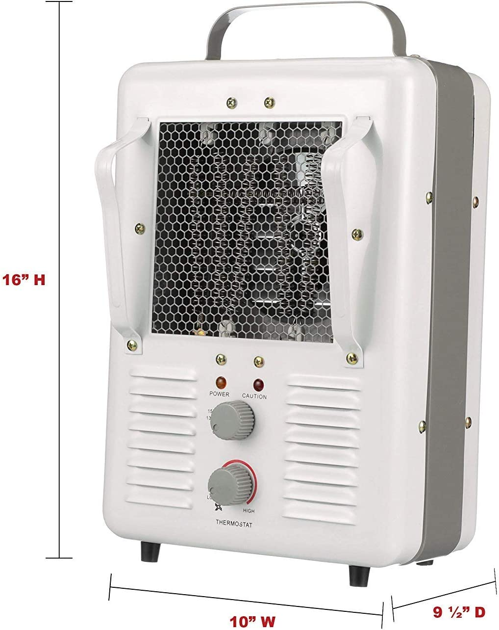 tpi portable electric heater 188tasa