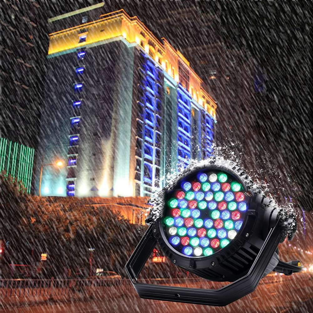 YICIX LED Stage Light/Spot Light/LED Par Lights Auto 200W for Party/Stage/Wedding Professional