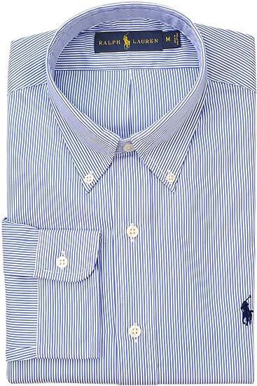 Black Hairline Stripe Formal Business Dress Shirt Luxury Men/'s Check Fashion Top