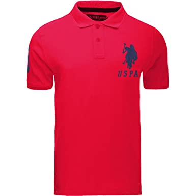 a9248dab1 U.S.POLO ASSN. Deep Red X-Large: Amazon.co.uk: Clothing