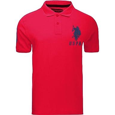 2e5ec29cc U.S.POLO ASSN. Deep Red X-Large: Amazon.co.uk: Clothing
