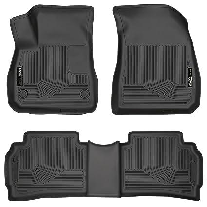 Amazon Com Husky Liners 99191 Black Front 2nd Seat Floor Liners