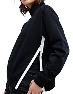 Kangma Women Plush Sweater Imitation Lambskin Round Neck Long Sleeve Blouse AG//L