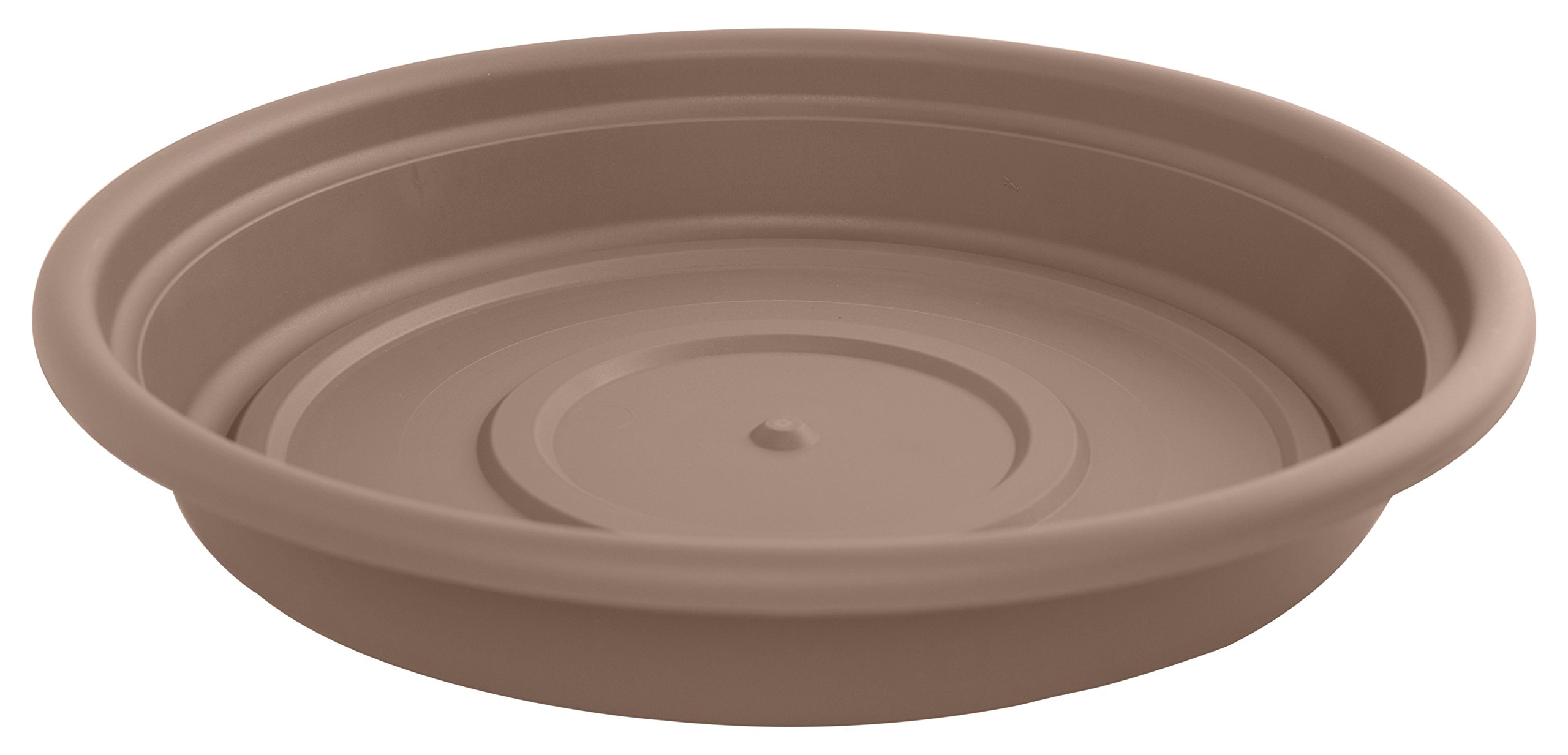 Bloem Dura Cotta Plant Saucer Tray, 20'', Chocolate (SDC20-45) by Bloem