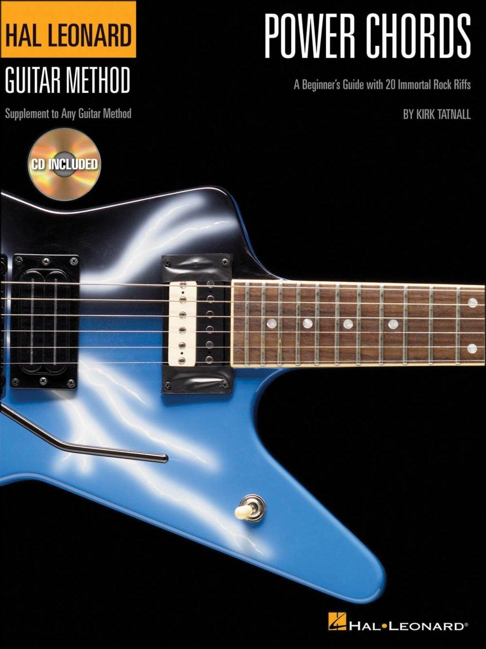Amazon Hal Leonard Power Chords Bookcd Hal Leonard Guitar