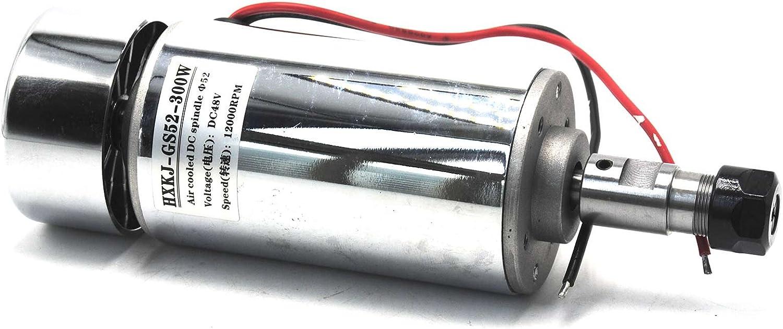 12V-48V  300w//12000RPM Spindle Motor Mount Bracket  Engraver Cutter Marker CNC
