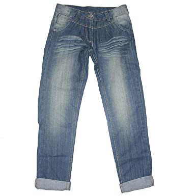 409166a838 Blue Seven Chino Jeans Hose Mädchen, Boyfriend Style blau 134 ...