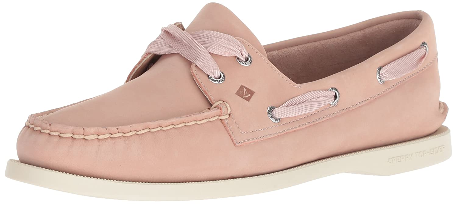 pink Dust Sperry Women's A O Satin Lace Boat shoes