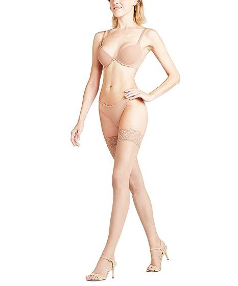 5ce33122049 Amazon.com  Falke Shelina 12 Toeless Hold Ups Powder Small  Clothing