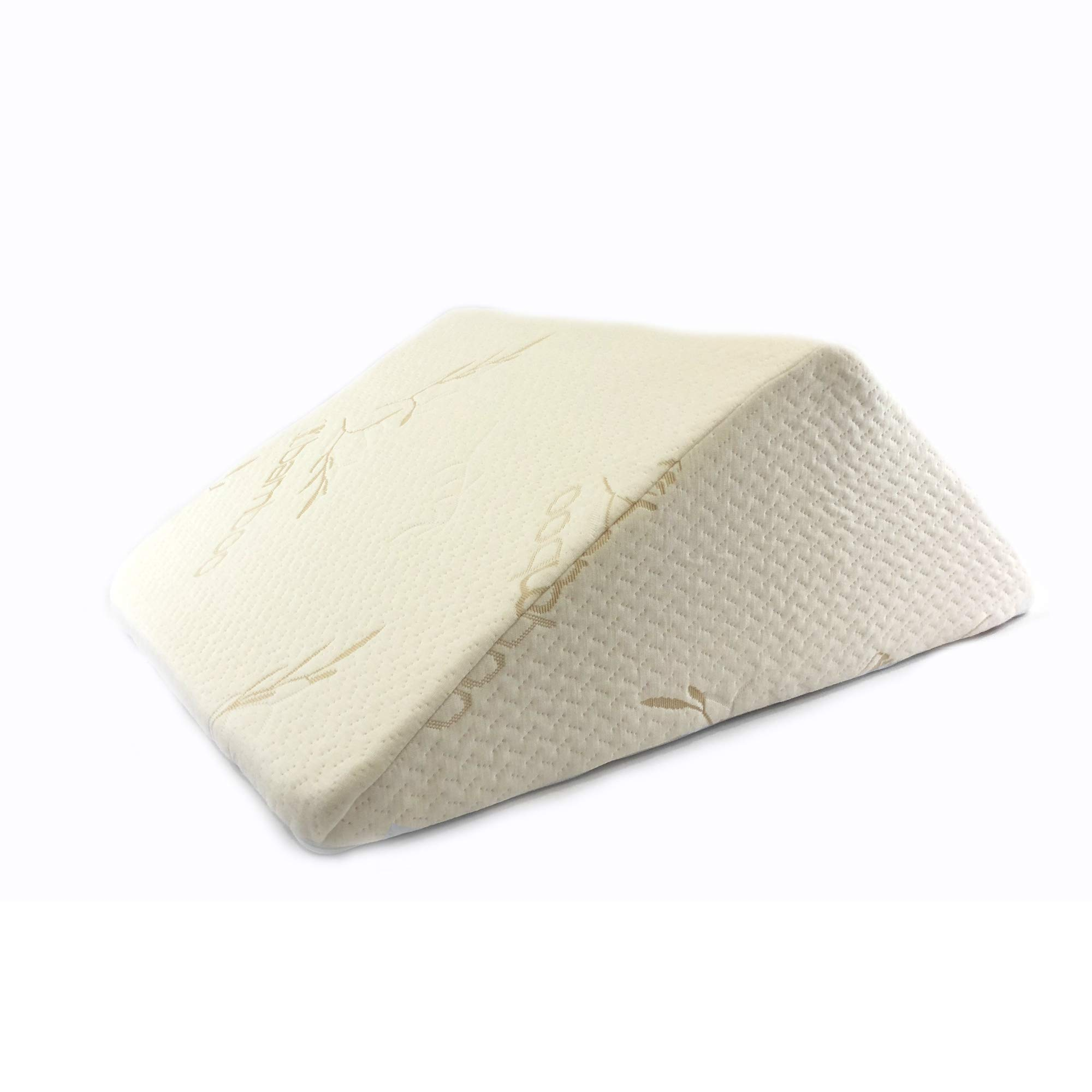 The Angle by Back Support Systems - Guaranteed to Help Reduce Back Pain Immediately. Eco Friendly, Medical Quality Memory Foam Bed Wedge Leg Pillow for Reducing Back Pain, Back Therapy and Sleeping by Back Support Systems (Image #1)