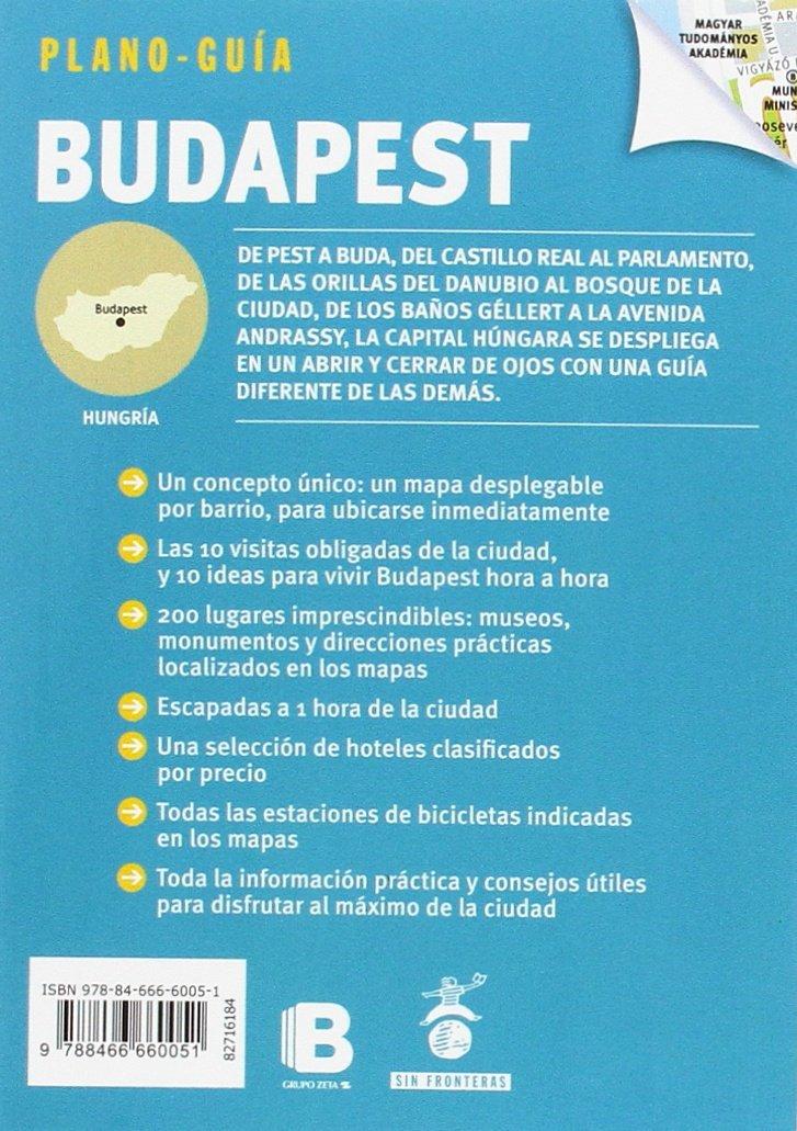Budapest Plano-Guía : Visitas, compras, restaurantes y ...