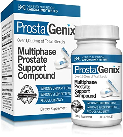 Amazon.com: ProstaGenix Multiphase Prostate Support - 90 caps: Health & Personal Care