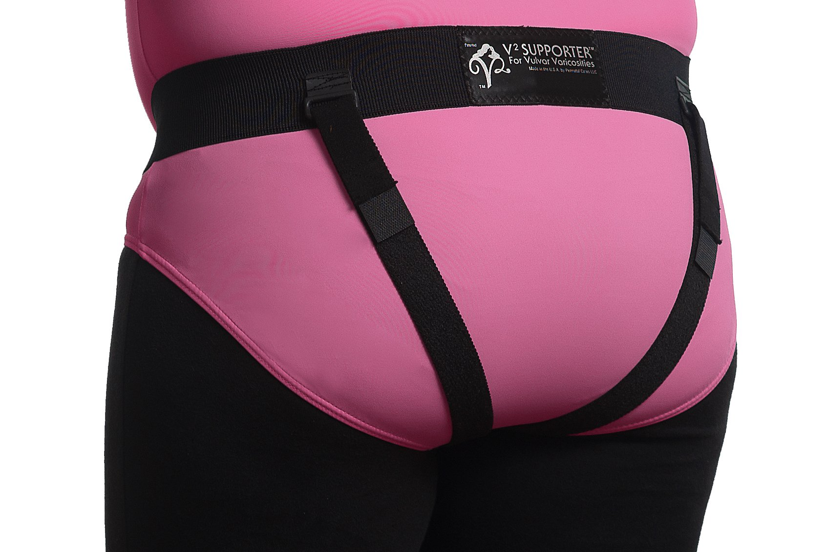 Prenatal Cradle Brand V2 Supporter Small, Black by Perinatal Cares