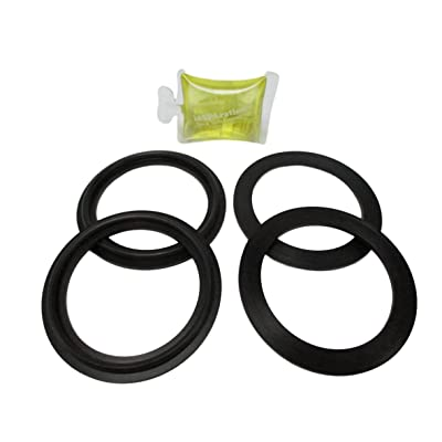 """4X 2"""" Spa Hot Tub Pump Heater Union Gasket with How To Video : Garden & Outdoor"""