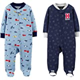 853c9e998 Amazon.com  Carter s Baby Boys  Cotton Sleep   Play (Pack of 2 ...