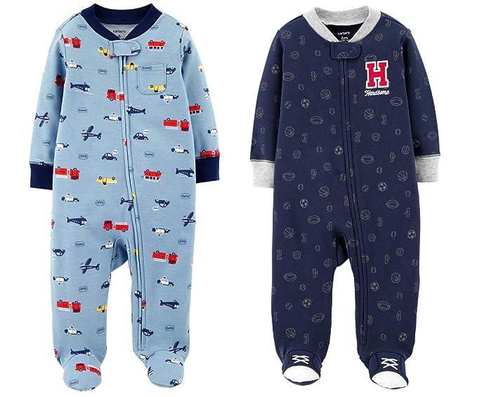 Amazon.com: Carters - Juego de 2 pijamas de algodón para ...