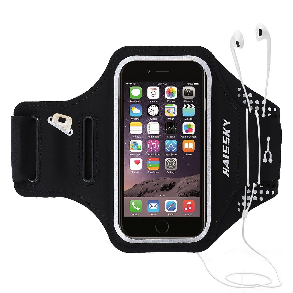 Resistente Acqua Huawei LG Cinturino Regolabile Bracciale Sports Armband per iPhone 6 Plus//6s Plus//7 Plus//8 Plus Xiaomi Samsung Galaxy G2 Fascia Braccio Sportiva Running HTC