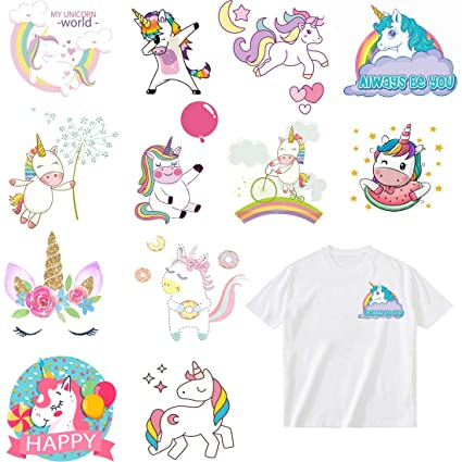Parches Stickers de Unicornio Termoadhesivos Parche ...