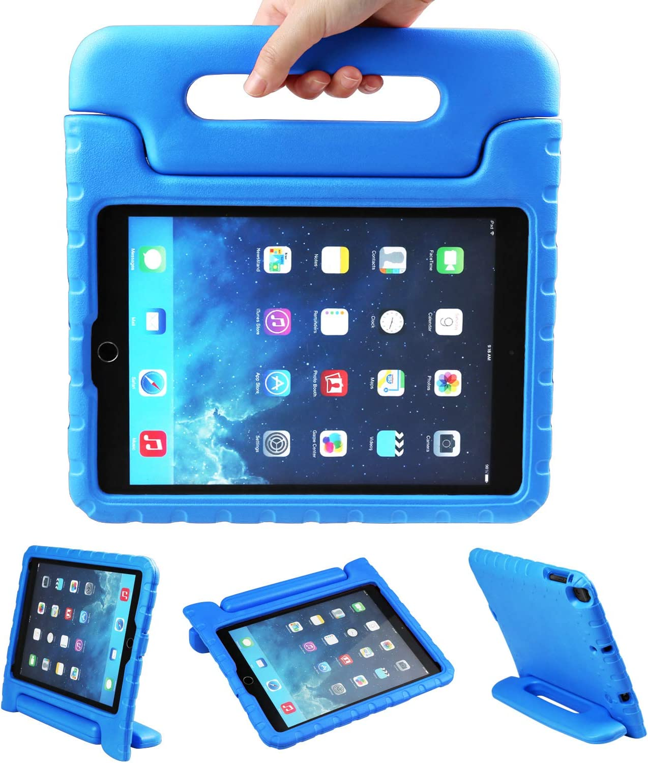 NEWSTYLE Apple iPad Air 2 Case Shockproof Case Light Weight Kids Case
