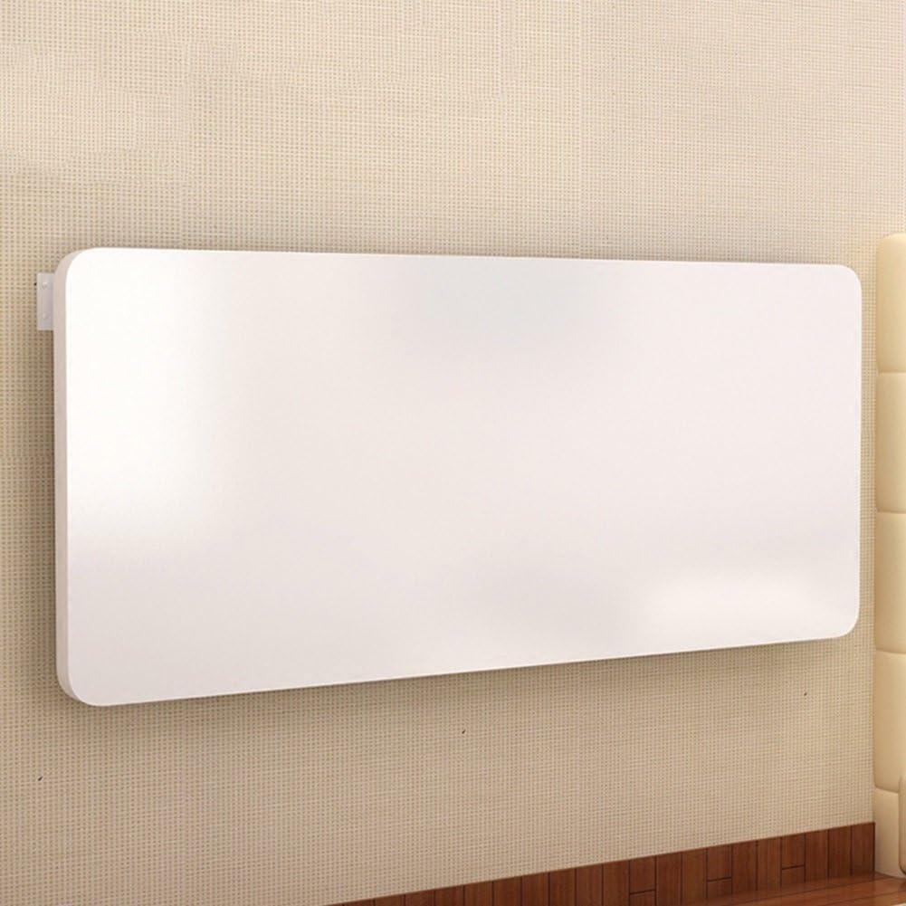 NYDZ Mesa de Comedor abatible montada en la Pared Mesa de Comedor abatible Space Saver Plegable Convertible Blanco (Size : 70 * 40cm)