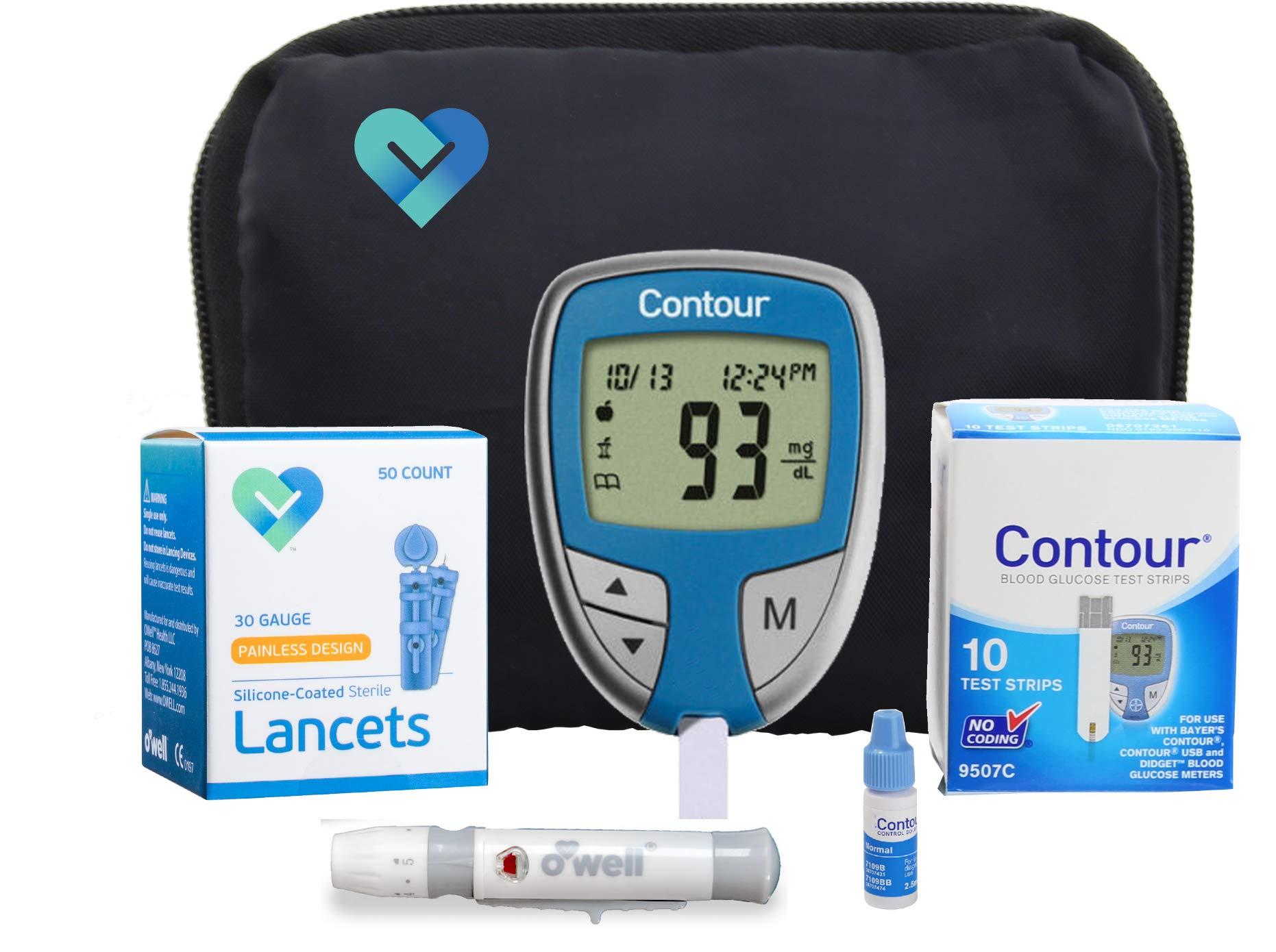 Amazon Com Bayer Contour Test Strips 50 Ct Health