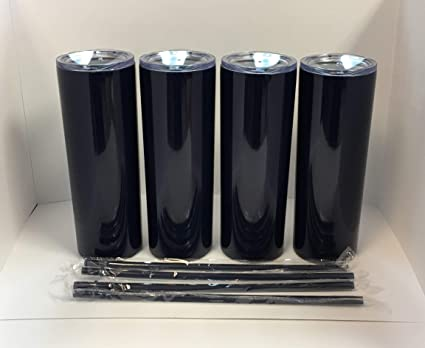 5d29d4ccdc4 Image Unavailable. Image not available for. Color: Maars 20 oz. Skinny Steel  4 Pack Double Wall Stainless Tumbler ...