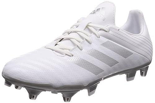 Adidas Malice (SG), Zapatillas de fútbol Americano para Hombre, Blanco Plamet/
