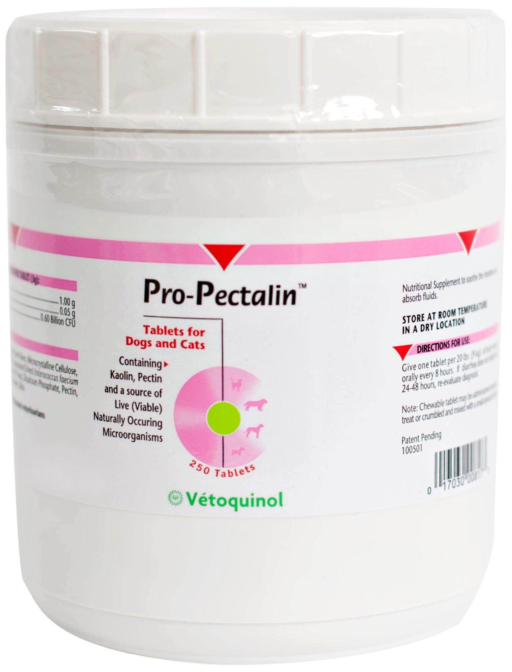 Vetoquinol 410817 Pro-Pectalin,250 ct