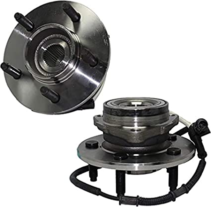 00-02 Navigator 4x4 w//M-14 Bolts Brand New Front 4x4 5-Lug Wheel Hub and Bearing Assembly w//ABS - - 00-02 Ford Expedition 4x4 w//M-14 Bolts