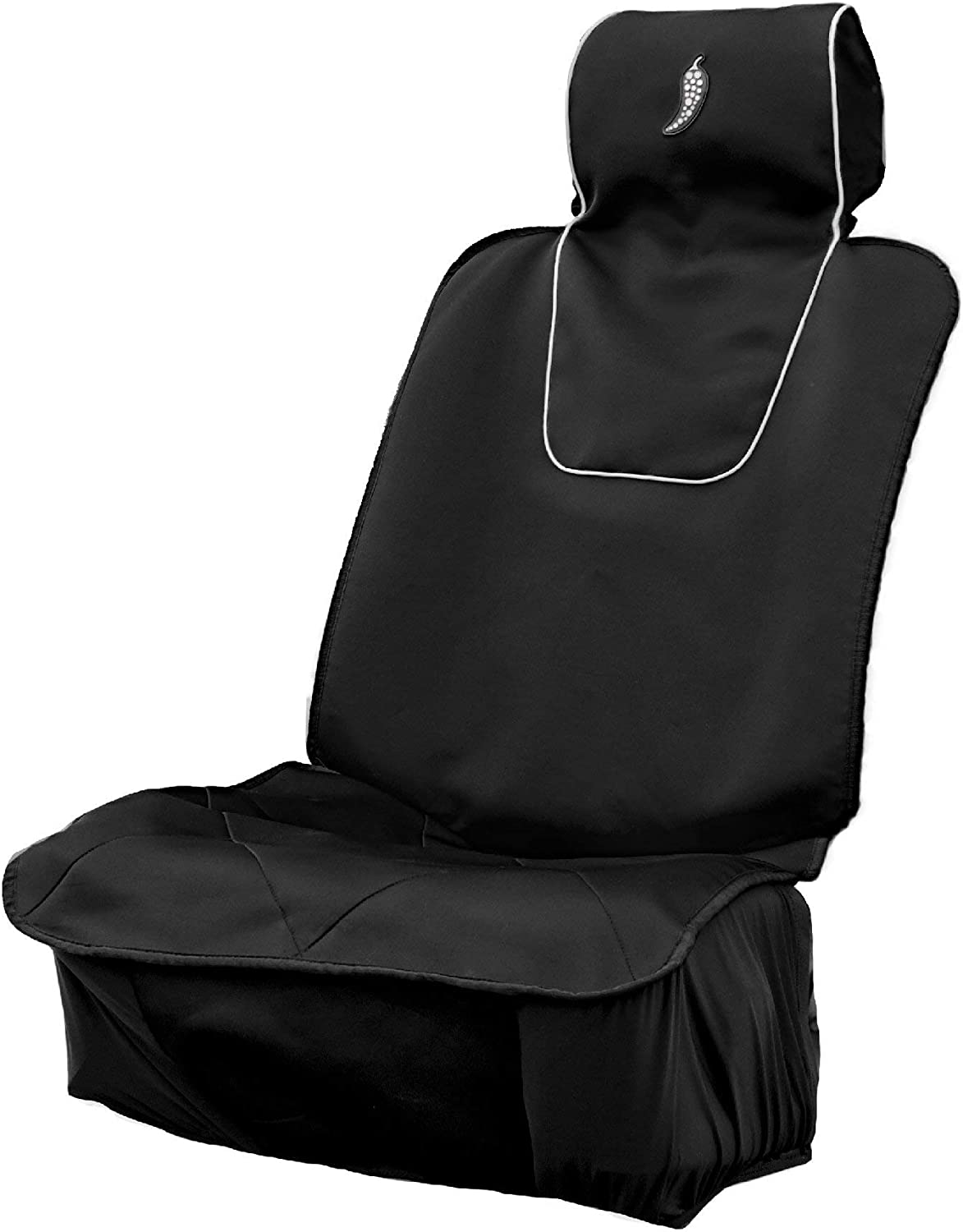 Machine Washable Perfect for Running Crossfit Red Chili Universal Fit Dry Rub Medium Sweat Proof Car Seat Cover After Gym and Outdoor Activities Drawstring Bag Included