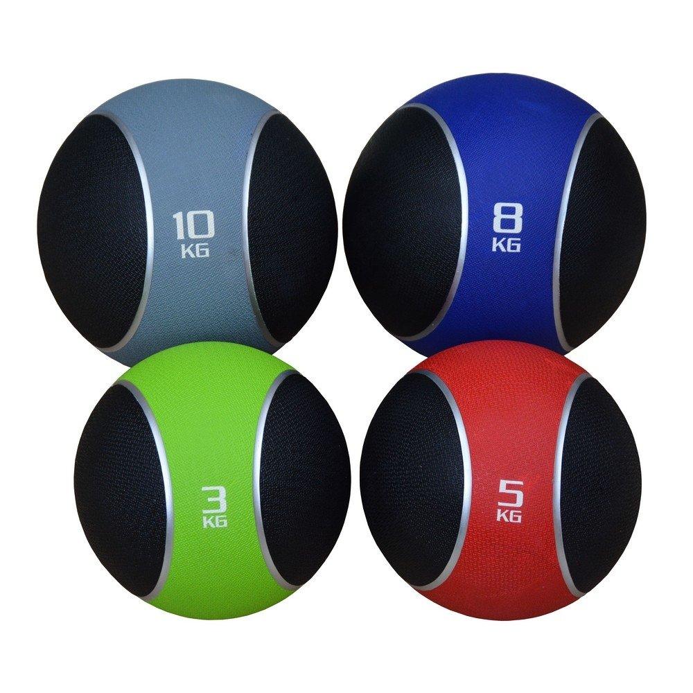 Confidence Fitness de goma balón medicinal 3 - 10 kg: Amazon.es ...