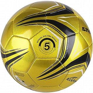 C.N. Football Machine à Coudre PVC entraînement intérieur et extérieur Football Adulte,Jaune,1