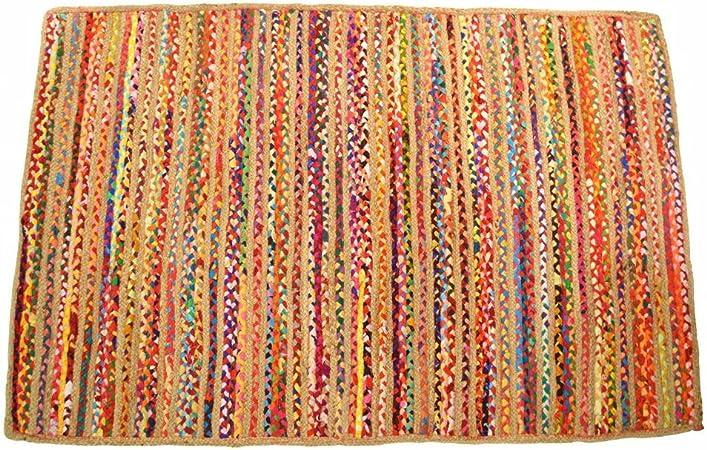 ZEN ETHIC – Alfombra Yute y algodón, 160 x 230 cm – Yute, algodón Yute,, 160 x 230 cm: Amazon.es: Hogar