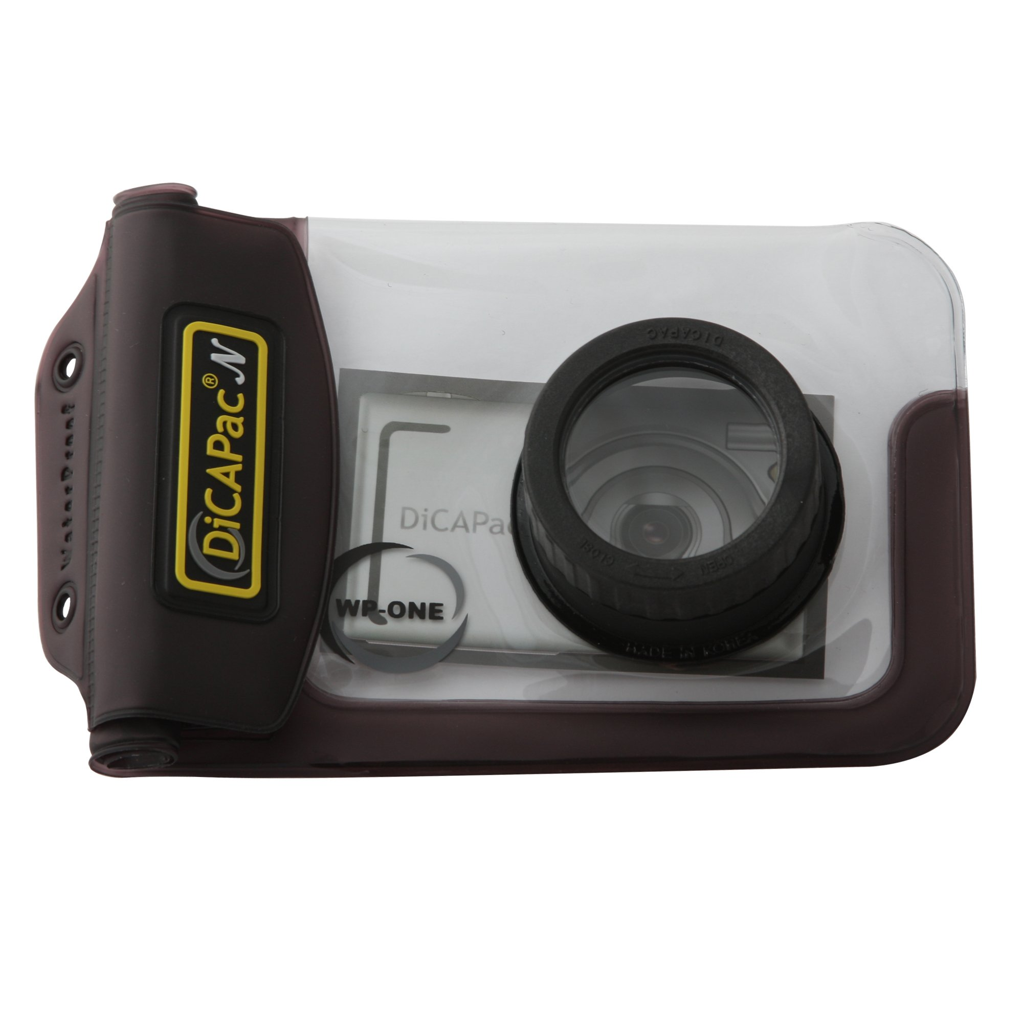 Dicapac WP-ONE Point & Shoot Digital Camera Waterproof Case by Dicapac USA Inc.