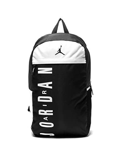 Nike Jordan Jumpman - Mochila Negro blanco funda blanda para ...