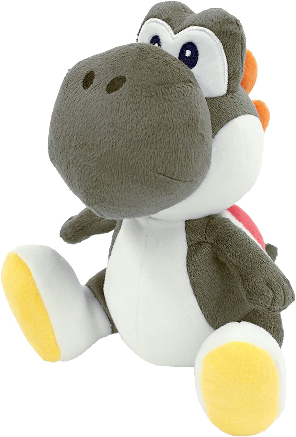 Sanei Super Mario All Star Collection Yoshi Plush Small (Black)