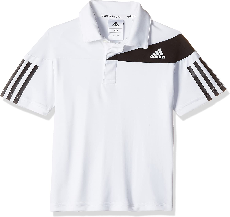 adidas B Response Polo Camiseta, Hombre, Blanco, 164: Amazon.es ...